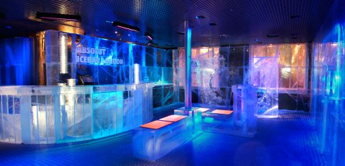 absolut icebar londres