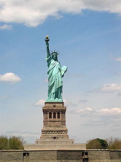 Statue of Liberty : description Statue-liberte
