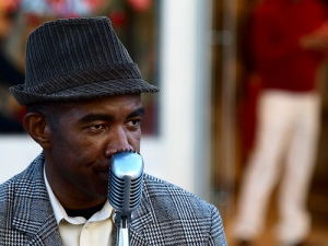 Eddie, chanteur Jazz