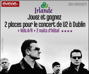 U2 concours Dublin