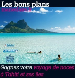 concours Tahiti Marie-Claire