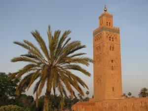 le minaret de la Koutoubia