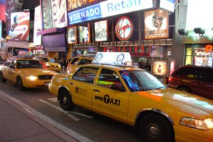 taxi jaune New York
