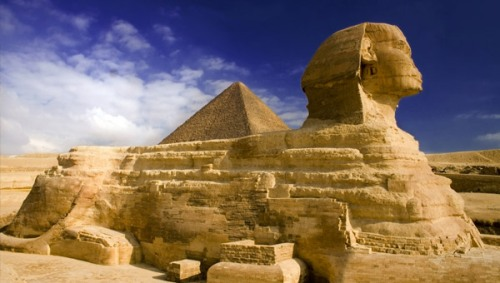 sphinx pyramide Egypte